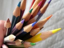 Bouquet of pencils
